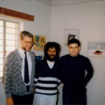 Michael Wright, Shane Desouza, Tony Anthony in Nicosia Central Prison
